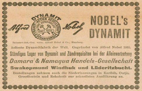 Alfred nobel patent